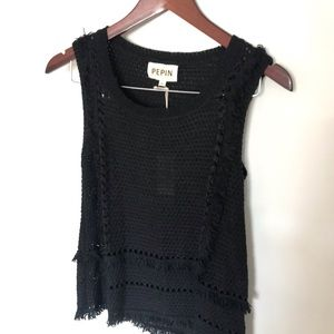 NWT Anthropologie Pepin Knitted Tank